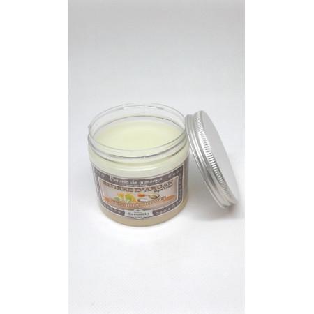 Baume de massage, beurre d'argan